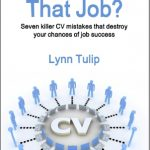 Don't make mistakes on your CV